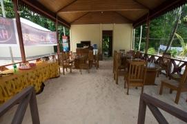 Dining Area on Plun Island