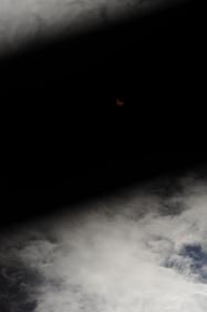 Crescent through filter