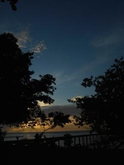 Sunset Over Plun Island