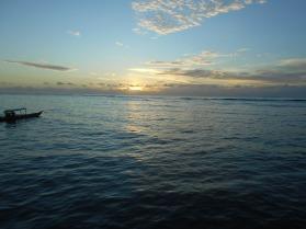 Sunrise Over Plun Island