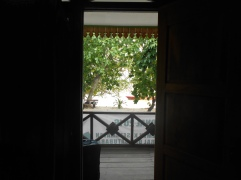 View From Bungalow Bedroom