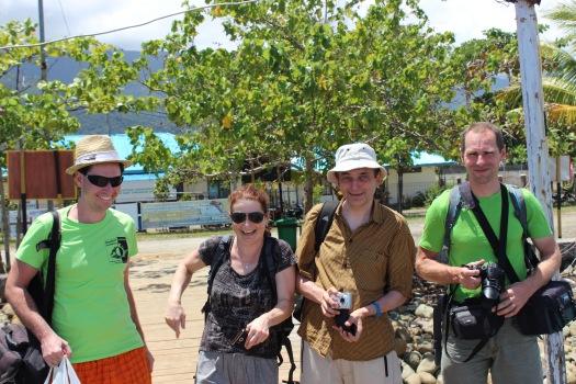 Petr H., Jana, Jan & Petr S.