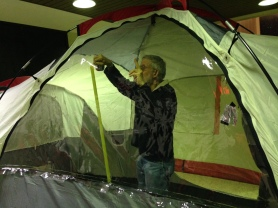 Judd - setting up, Feb 13th