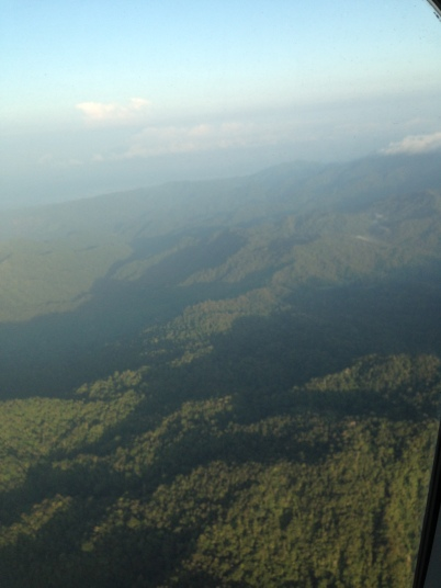 Flying Over Indonesia