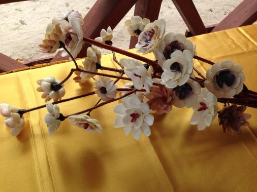 Handmade Seashell Bouquet