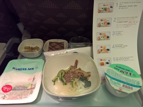 Korean menu - with instructions, Feb 25th