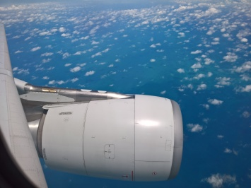 Somewhere Over the Pacific