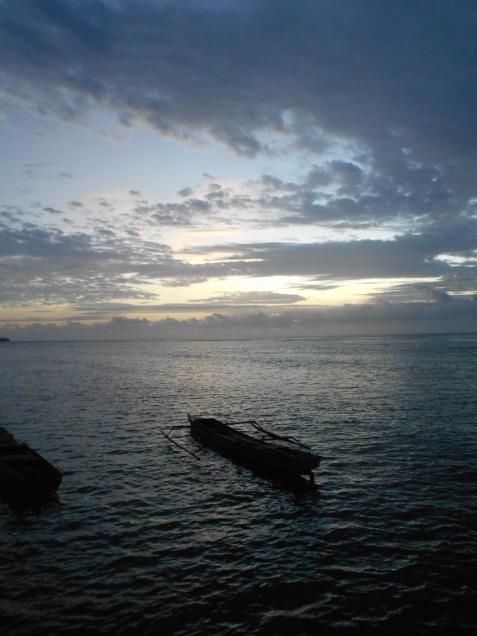 Sunrise on Plun Island