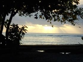 Sunset on Plun Island