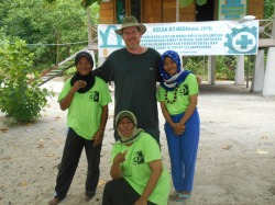 Duncan & Staff on Plun Island