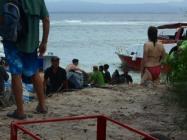 Loading Equipment on Plun Island