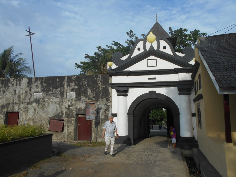 Fort Entrance in Ternate